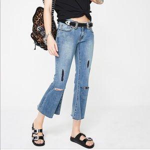 NEW • One Teaspoon • Vintage Indigo Marine Jeans